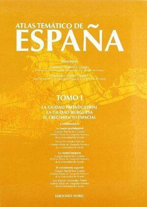 ATLAS TEMATICO ESPAÑA TOMO I