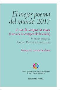 MEJOR POEMA DEL MUNDO 2017, EL:LISTA DA COMPRA DA VIUVA