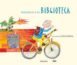 NICOLAS VA A LA BIBLIOTECA