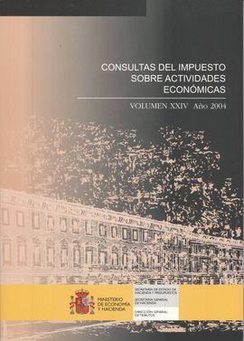 CONSULTAS DEL IMPUESTO SOBRE ACTIVIDADES ECONOMICAS