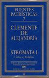 STROMATA I. CULTURA Y RELIGIÓN