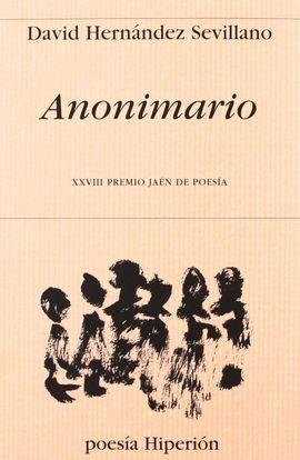 ANONIMARIO - PREMIO JAÉN -