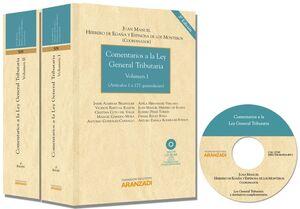 COMENTARIOS A LA LEY GENERAL TRIBUTARIA. 2 VOLS. 3ª ED.