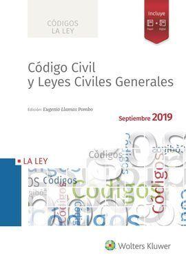 CÓDIGO CIVIL Y LEYES CIVILES GENERALES