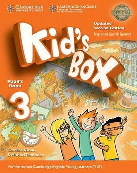 KID'S BOX LEVEL 3 PUPIL'S BOOK UPDATED ENGLISH FOR SPANISH SPEAKE