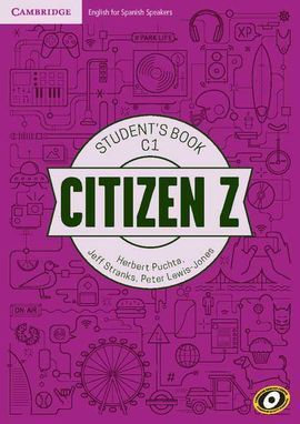 CITIZEN Z C1 STUDENT'S BOOK WITH AUGMENTED REALITY