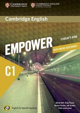 CAMBRIDGE ENGLISH EMPOWER FOR SPANISH SPEAKERS C1 STUDENT'S BOOK WITH ONLINE ASS