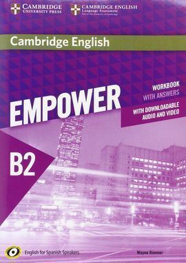 CAMBRIDGE ENGLISH EMPOWER FOR SPANISH SPEAKERS B2 WORKBOOK WITH ANSWERS, WITH DO