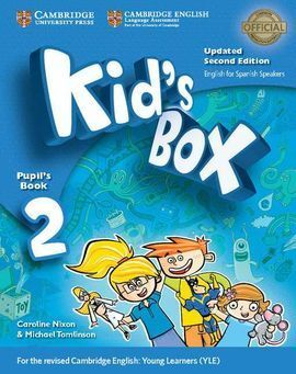 KID'S BOX LEVEL 2 PUPIL'S BOOK WITH MY HOME BOOKLET UPDATED ENGLISH FOR SPANISH