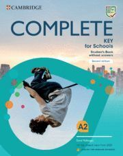 COMPLETE KEY FOR SCHOOLS FOR SPANISH SPEAKERS STUDENT'S BOOK WITHOUT ANSWERS (2020
