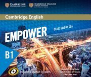 CAMBRIDGE ENGLISH EMPOWER FOR SPANISH SPEAKERS B1 CLASS AUDIO CDS (4)
