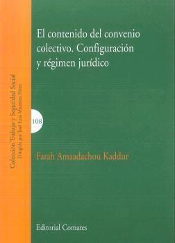 CONTENIDO DEL CONVENIO COLECTIVO CONFIGURACION Y REGIMEN JURIDICO