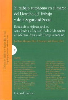 TRABAJO AUTÓNOMO EN EL MARCO DEL DERECHO DEL TRABAJO Y DE LA SEGURIDAD SOCIAL, E