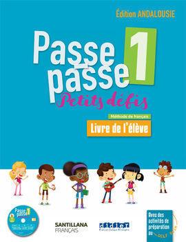 PASSE PASSE-PETITS DEFIS 1 ELEVE+CD ANDA