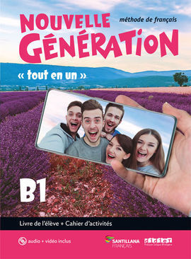 NOUVELLE GENERATION B1 LIVRE/EXERCICES+CD+DVD