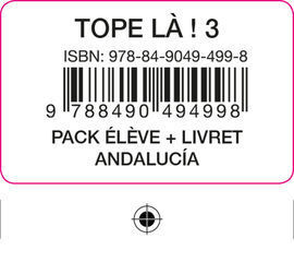 TOPE LA! 3 PACK ELEVE + LIVRET ANDALUCIA