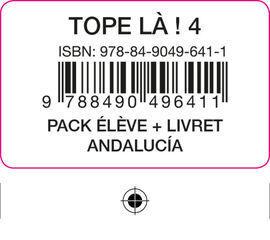 TOPE LA! 4 PACK ELEVE + LIVRET ANDALUCIA