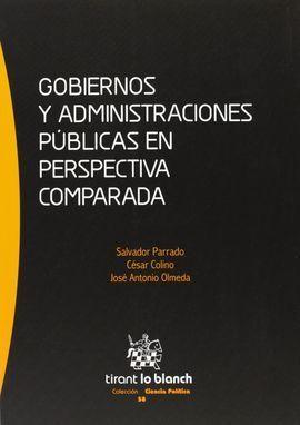 GOBIERNOS Y ADMINISTRACIONES PÚBLICAS EN PERSPECTIVA COMPARADA