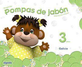 POMPAS DE JABON 3 AÑOS 3 TRIMESTRES GALICIA