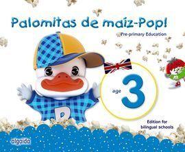 PALOMITAS DE MAÍZ-POP!. PRE-PRIMARY EDUCATION. AGE 3