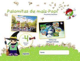 PALOMITAS DE MAÍZ-POP!. PRE-PRIMARY EDUCATION. AGE 4. SECOND TERM