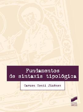 FUNDAMENTOS DE SINTAXIS TIPOLOGICA