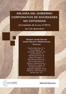 MEJORA DEL GOBIERNO CORPORATIVO DE SOCIEDADES NO COTIZADAS