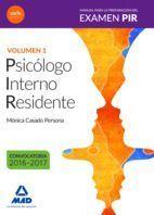 TEMARIO 1 PSICOLOGO INTERNO RESIDENTE PIR