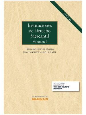 INSTITUCIONES DE DERECHO MERCANTIL