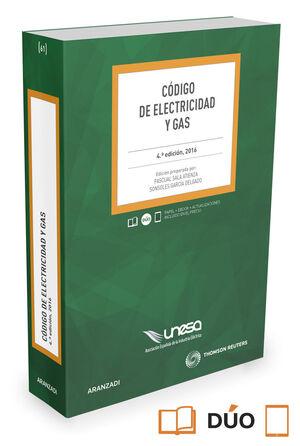 CODIGO DE ELECTRICIDAD Y GAS
