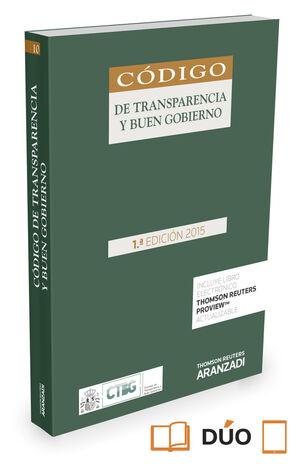 CODIGO DE TRANSPARENCIA Y BUEN GOBIERNO