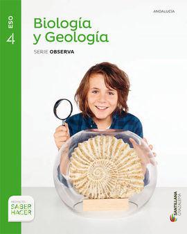 BIOLOGÍA Y GEOLOGÍA 4ºESO +CUADERNO ANDALUCÍA