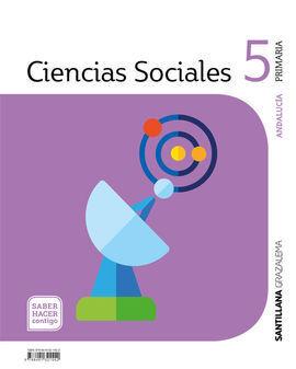 CIENCIAS SOCIALES 5ºPRIMARIA. SABER HACER CONTIGO. ANDALUCÍA 2019