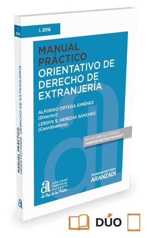 MANUAL PRÁCTICO ORIENTATIVO DE DERECHO DE EXTRANJERÍA (PAPEL + E-BOOK)