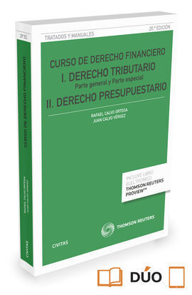 CURSO DE DERECHO FINANCIERO (PAPEL + E-BOOK) 2016