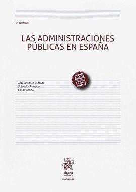 ADMINISTRACIONES PUBLICAS EN ESPAÑA, LAS