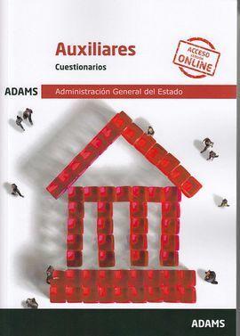 CUESTIONARIOS AUXILIARES ADMINISTRACIÓN GENERAL DEL ESTADO