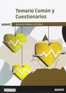 TEMARIO COMÚN Y CUESTIONARIOS SERVICIO ANDALUZ DE SALUD
