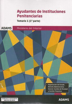 TEMARIO 1 AYUDANTES DE INSTITUCIONES PENITENCIARIAS