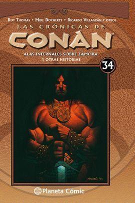 CRÓNICAS DE CONAN Nº 34/34