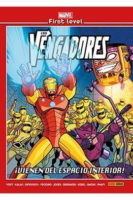 MARVEL FIRST LEVEL 12: LOS VENGADORES ¡VIENEN DEL ESPACIO INTERIOR!