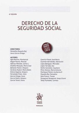 DERECHO DE LA SEGURIDAD SOCIAL 6ª EDICIÓN 2017
