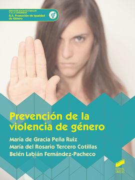 PREVENCION DE LA VIOLENCIA DE GÉNERO CFGS. SERVICIOS SOCIOCULTURALES Y A LA COMUNIDAD