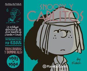 SNOOPY Y CARLITOS 1993-1994 Nº 22/25