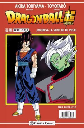 DRAGON BALL SERIE ROJA Nº 231 (VOL4)