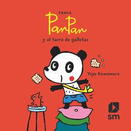 PANDA PAN PAN Y EL TARRO DE GALLETAS