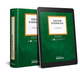 LEGISLACIÓN DE RÉGIMEN LOCAL (PAPEL + E-BOOK)