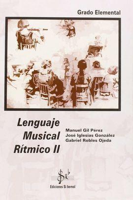 LENGUAJE MUSICAL RÍTMICO II, GRADO ELEMENTAL