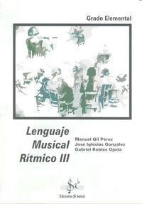 LENGUAJE MUSICAL RITMICO III LENGUAJE   30