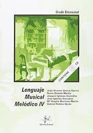 LENGUAJE MUSICAL MELODICO IV LENGUAJE    4